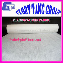 high-quality pla spunlace nonwoven fabric for nonwoven wipes, baby diapers, hygiene products