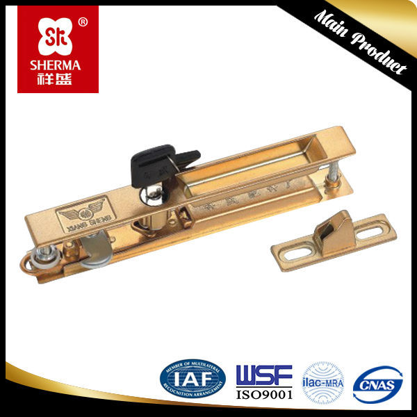 Door lock aluminum accessories sliding window lock