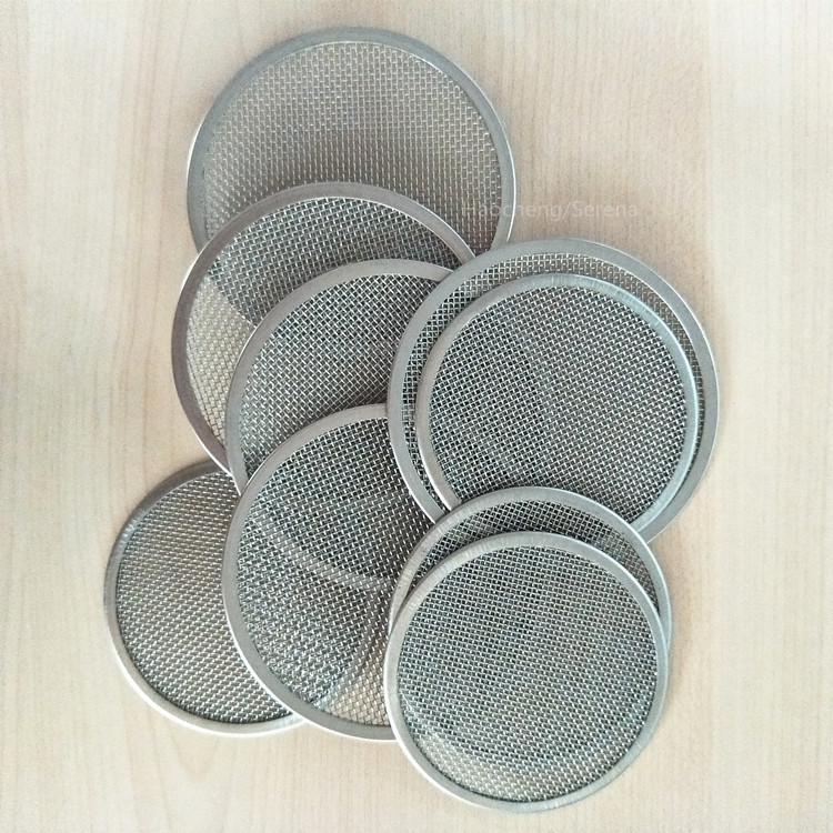 Reusable 304 stainless steel metal filter disc