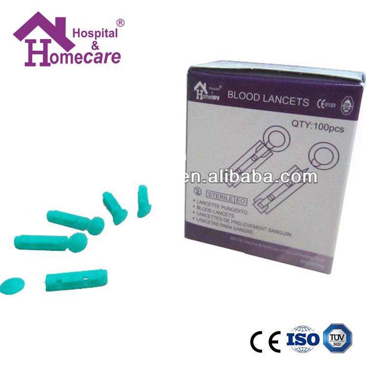 Cheap Price Disposable Safety Sterile Twist Type Blood lancet