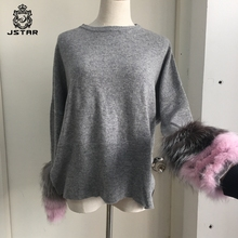 Latest designs western style cashmere sweaters sale for girls