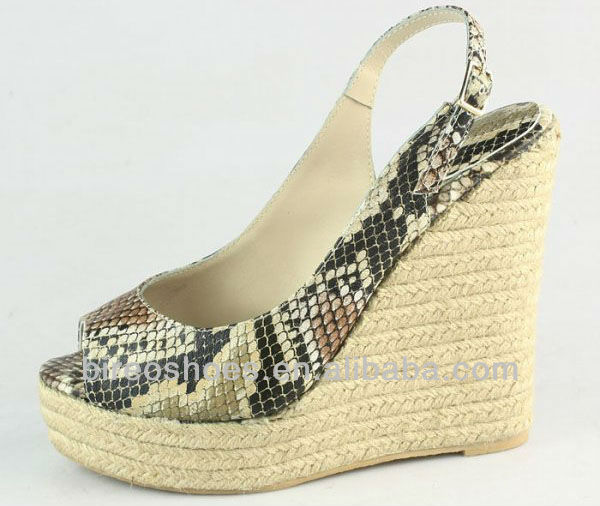 summer shoes women wedge shoes( style no. WPB066)