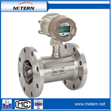 Turbine flow meter with wetted part
