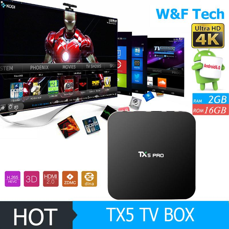 facebook youtube smart tx5 pro amlogic s905x media player android quad core tv box 4k