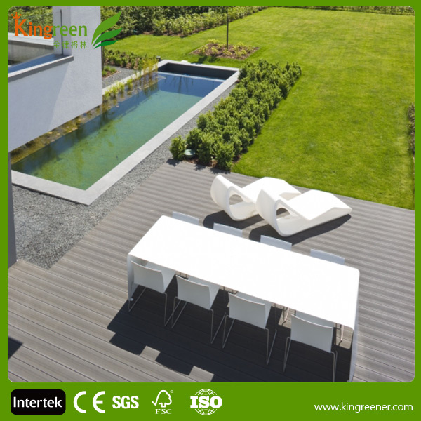 2015 Kingreen Outdoor WPC Board Wood Plastic Composite WPC Decking