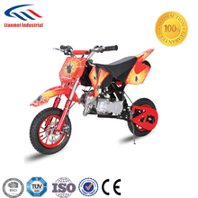 49cc gasoline mini dirt bike with pull start for kids