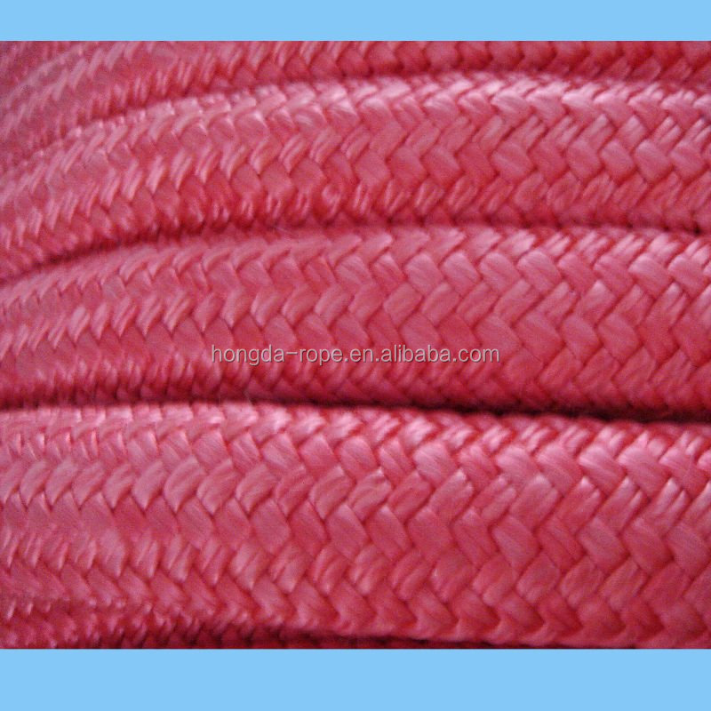 Nylon double braided rope 40mm for marine supplies