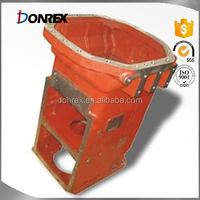 Custom grey iron casting Gear Box with painting made in China