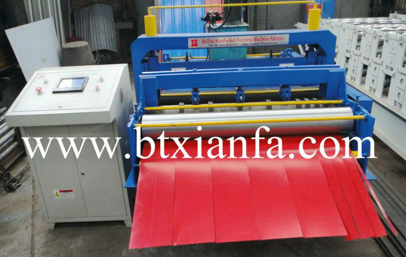 CE ISO Leveling & Cutting machine roll forming machine