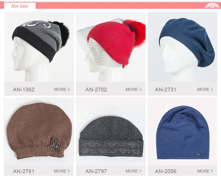 Top quality wholesale plain winter hat knitted beanies