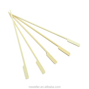 2015 Hot Sell timber raw materials high quality new style bamboo stick soak bbq