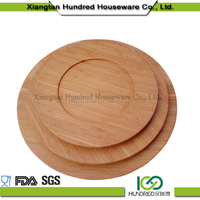 bamboo salad bowl set wooden fruit bowl