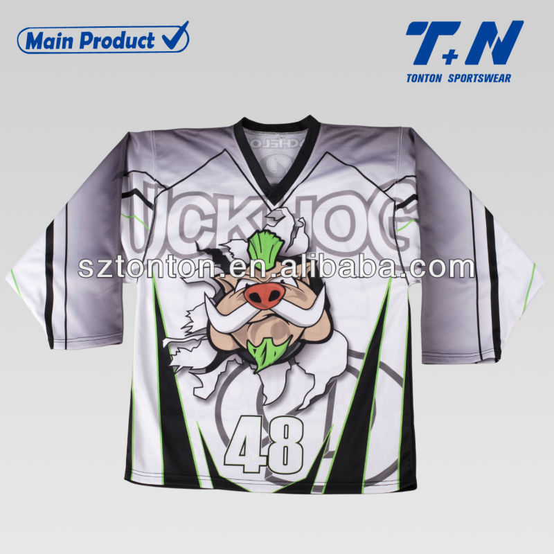 Custom design ice hockey uniform