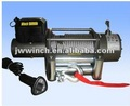 12v/24v off road winch with CE approved