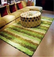 good quality handmade various 100% polyester shaggy carpet