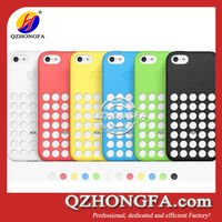 Newest Wave Point Dots Silicone Case for iPhone 5C