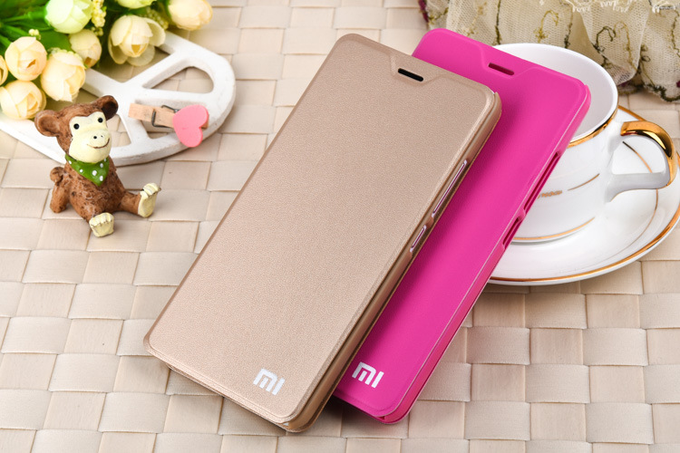 leather case for xiaomi redmi note2 cover