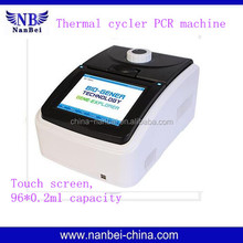 DNA analysis Temperature gradient peltier pcr machine price in China