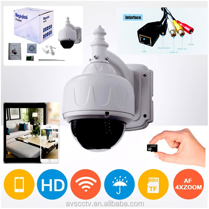 Shenzhen Waterproof CMOS IP Camera Dome Wifi Security Camera