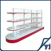 For all kinds of stores display, mesh wire gondola shelving super shop rack/ supermarket rack/supermarket display rack
