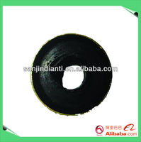 Elevator rope fastening rubber pad