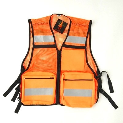 Wholesale clothing work uniform with reflective tapes for construction fields