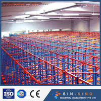 Competitive price china supplier cheap merchandise shelves steel pallet rack