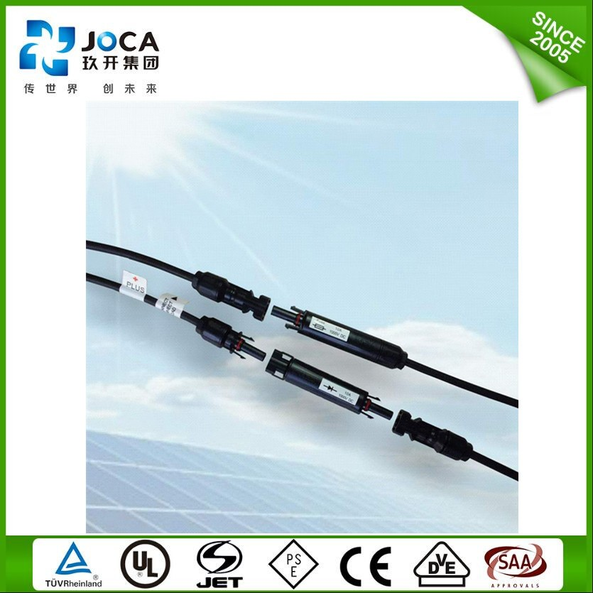 12 pin molded solar cable connector