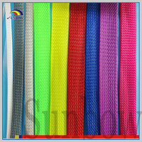 SUNBOW flexible PET braided expandable sleeving for fishing rods