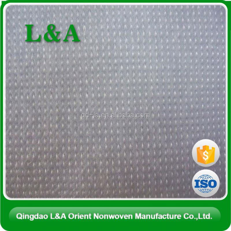Fire Retardant Drapery Stitchbond Polyester Fabric For Many Usage