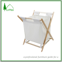 New solid wood folding laundry bag