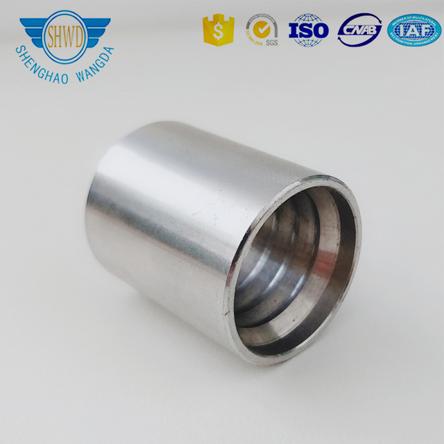 High Quality Eaton Standard Hydraulic Stainless Steel Hose Ferrule Sleeve From Tianjin Factory