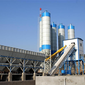 HZS90 ready mix elba Concrete Batching Plant price