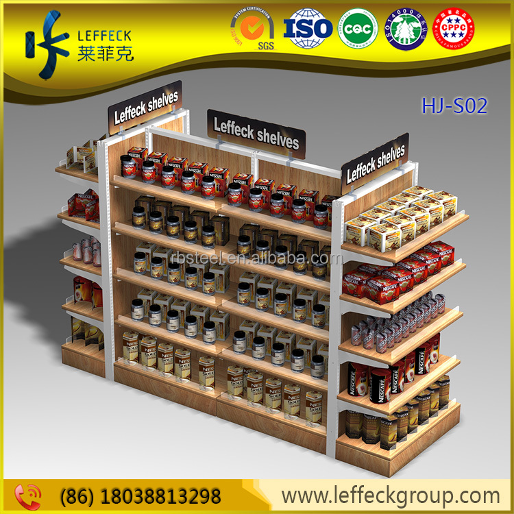Professional wood laminate retail grocery store planograms design supplies