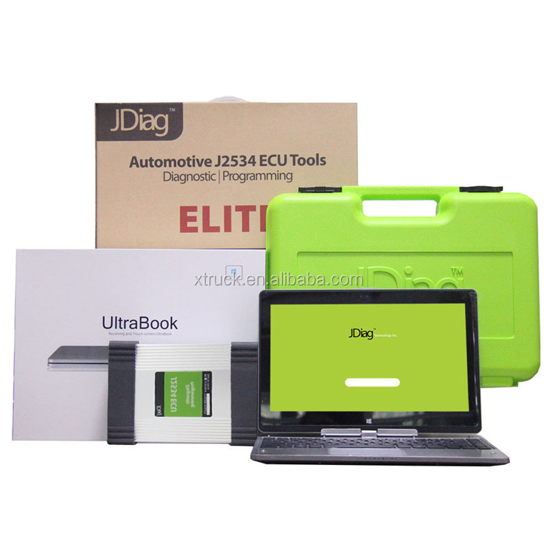 JDIAG ELITE J2534 DEVICE UNIVERSAL AUTO CAR DIAGNOSTIC AND REPROGRAMMING TOOL