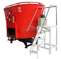 Cow silage cutter, animal feed mixer,livestock machinery