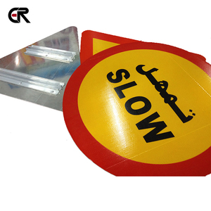 Aluminum Reflective Traffic Sign for Road Safety Warning