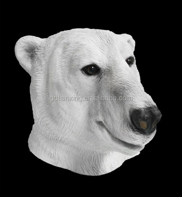 Animal Fashion Party Wolf Face Natural Latex Masks