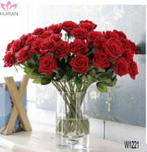 Wholesale High Quality Artificial Rose Flowers For Wedding Decoration