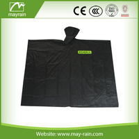 Reusable Printed Rubber Rain Poncho raincoats
