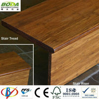 Carbonized Strand Woven Bamboo Stair Treads Accessories