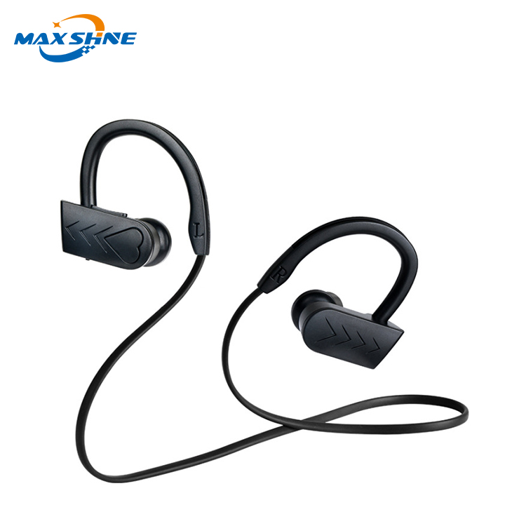 Maxshine high sound quality wireless sport blue tooth earbuds, blue tooth noise cancelling headphones