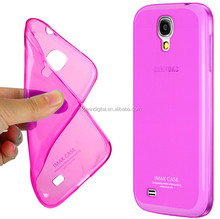 Imak Ultra Thin Soft TPU Leather Back Cover For Samsung Galaxy S4 i9500