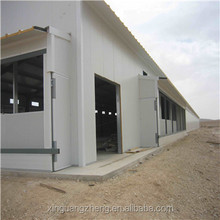 Galvanized steel structure poultry shed design and manufacture for Africa