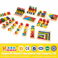 Wooden Geometric Math Innovative Educational Toys