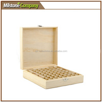 Natural Wooden Beautiful Essential Oil Storage Boxes