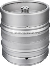 Hot sale cost-effective 20L 30L 50L stainless steel beer kegs with different beer spears to Russia client