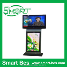 Smart Bes~42 inch advertising machine/player/ display floor stand,customize floor standing lcd advertising player