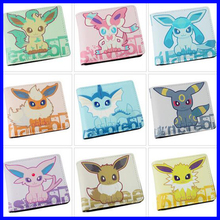 2016 Fashion Anime Pokemon Anime Purse PU Wallets