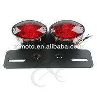 For YAMAHA YZF R1 03-08 Motorcycle Cat Eye LED Brake Taillight With Turn Signals
